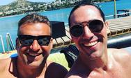 Γιώργος Λιάγκας - Άνθιμος Ανανιάδης: Συναντήθηκαν στη θάλασσα!
