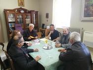 Πάτρα: Ο Ανδρέας Ριζούλης πραγματοποίησε επισκέψεις σε ιδρύματα