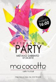 Afternoon Party στο Ma Cocotte