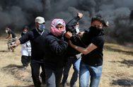 «Κόλαση» στη Γάζα: Φωτιές, νεκροί και τραυματίες (pics+video)