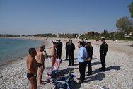 Υπ. Ναυτιλίας: Πλήρης άρση της απαγόρευσης κολύμβησης στις πληγείσες ακτές του Σαρωνικού!