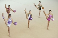 Πάτρα: Aγώνες Ρυθμικής Γυμναστικής Κορασίδων στο Κουκούλι