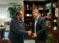 Πάτρα: Συνάντηση Γρ. Αλεξόπουλου με τον Πρόεδρο της Ομοσπονδίας Εμπορικών Συλλόγων Πελοποννήσου