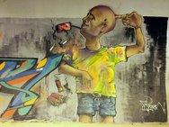 Η τεράστια υπαίθρια «γκαλερί» street art της Μίνι Περιμετρικής (pics)