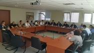 Πάτρα - Σύσκεψη στο γραφείο του Γρηγόρη Αλεξόπουλου για το μεταναστευτικό