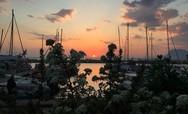 Άνοιξη και ηλιοβασίλεμα σε γλυκιά αρμονία στην Πάτρα