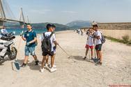 Πάτρα - Περισσότεροι από250 εθελοντές, καθάρισαν τη παραλία του Κάστρου στο Ρίο! (φωτο+video)