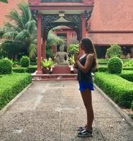 Η Πατρινή που πήγε στο Phnom Penh και είδε τον... Βούδα από κοντά!
