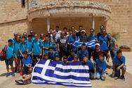 Αθλητές από την Αρχαία Ολυμπία ταξίδεψαν στη Ναζαρέτ! (φωτο)