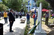 Πάτρα: O Δήμος τίμησε τους απαγχονισθέντες στα Ψηλαλώνια (pics)