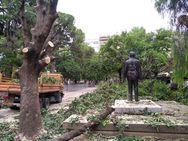 Πάτρα: Συνεχίζεται η διαμόρφωση της πλατείας Εθνικής Αντίστασης (pics)