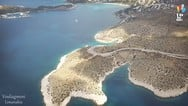 Τα λιμανάκια της Βουλιαγμένης από ψηλά (video)
