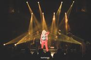 Απολαυστική και γεμάτη ενέργεια, η Άννα Βίσση στο stage του Apotheosis (φωτο)