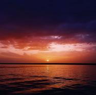 Πάτρα - Όταν το μπλε της θάλασσας και του ουρανού χάνονται...