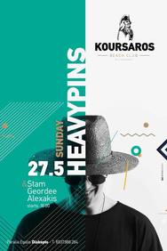 Heavypins at Koursaros Club