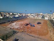 Πάτρα: Ξεκίνησαν οι εργασίες στο γήπεδο των Προσφυγικών (pics)