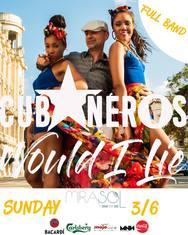 Cubaneros Full band live at Mirasol