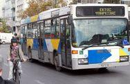 Χειρόφρενο σε λεωφορεία και τρόλεϊ την Πέμπτη