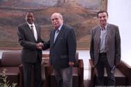 Συνάντηση του Προέδρου της Βουλής με τον Πρέσβη του Σουδάν