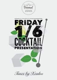 Cocktail presentation at Vermut