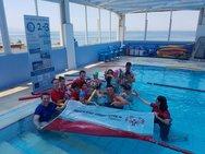 Ο σπουδαίος Βρετανός κολυμβητής, Adam Walker, βρέθηκε στην Πάτρα (φωτο)