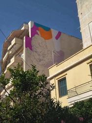 Η τέχνη του δρόμου γεμίζει με χρώμα την Πάτρα - Ξεκίνησε η 6η τοιχογραφία του Artwalk 3! (φωτο)