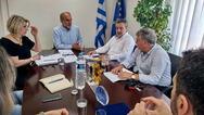 Δυτική Ελλάδα: Το ΕΣΠΑ επί τάπητος - Συνάντηση Κατσιφάρα και Μοράντ για τα έργα στη Κυλλήνη