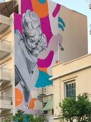 'Fingers locked' - Το νέο mural που δημιουργήθηκε στην Πάτρα δεν θα αφήσει κανέναν ασυγκίνητο!