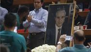 Λαϊκό 'προσκύνημα' στο ΟΑΚΑ για τον Παύλο Γιαννακόπουλο (pics+video)