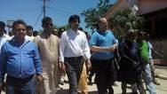 Aνδρέας Ριζούλης: Eπίσκεψη στον καυταλισμό εργατών στη Μανωλάδα (pics)