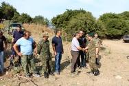 Επίσκεψη Διοικητή Νικολάου Μανωλάκου σε στρατόπεδα (pics)