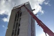 Η 'σφραγίδα' του φετινού Artwalk θα μπει στον πύργο της Πειραϊκής Πατραϊκής (pics)