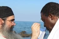 Αφρικανός βασιλιάς βαπτίστηκε στο Άγιο Όρος