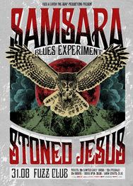 Samsara Blues Experiment + Stoned Jesus live at Fuzz Live Music Club