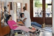 Πάτρα - Πραγματοποιήθηκε εθελοντική αιμοδοσία στη Δημοτική Βιβλιοθήκη (φωτο)