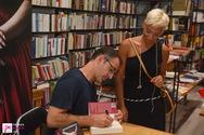"""Παρουσίαση βιβλίου του Κώστα Κρομμύδα """"Μυρωδιά από σανίδι"""" στο  Discover Bookstore 22-06-18"""