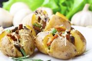 Φτιάξτε πατάτες γεμιστές με μανιτάρια