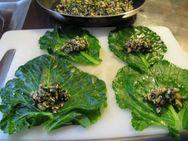 Συνταγή για ντολμαδάκια με κινόα