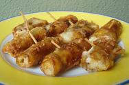 Συνταγή για μελιτζάνες λευκές με κασέρι