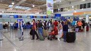 Αύξηση 17,5% των επιβατών για τα ελληνικά αεροδρόμια