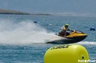 Εντυπωσιακό το θέαμα στη Ναύπακτο χάρισε το Πρωτάθλημα τζετ σκι (pics)
