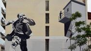 Πάτρα: Το νέο mural μας ξυπνά αναμνήσεις από τον παλιό καλό κινηματογράφο!
