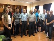 Επίσκεψη της Ένωσης Αστυνομικών Υπαλλήλων Αχαΐας στον Κωνσταντίνο Στεφανόπουλο!