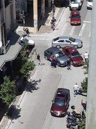 Πάτρα: Τροχαίο ατύχημα στο κέντρο