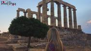 Μαγευτικό το ηλιοβασίλεμα στο Ναό του Ποσειδώνα! (video)