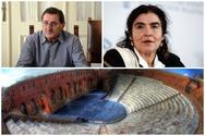 Κώστας Πελετίδης - Εκφράζει την έντονη διαμαρτυρία του για τις αποφάσεις του ΚΑΣ σχετικά με το Ρωμαϊκό Ωδείο