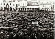 Μάρτιος 1949 στην Πάτρα - Εργαζόμενοι της πόλης ευχαριστούν δημόσια την κα Γκραίιντι!