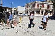 Έργα ανάπλασης στις συνοικίες Αγία Αικατερίνη & Καντριάνικα - Επίσκεψη Πελετίδη (φωτο+video)
