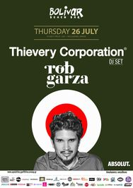 Thievery Corporation Dj Set - Rob Garza στο Bolivar Beach Bar