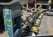 Πάτρα - Τα κοινόχρηστα ποδήλατα τοποθετούνται ξανά στις «βάσεις» τους!